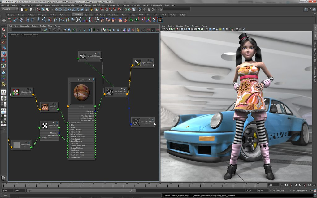 Autodesk Maya (The Best 3D Modeling Software for Unity)