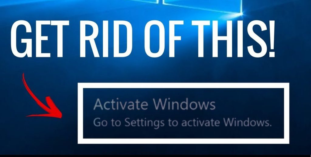How to get rid of Windows 10 watermark