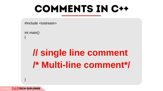 Comments in C++