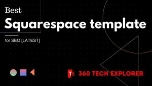 Best Squarespace template for SEO