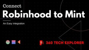 Connect Robinhood to Mint