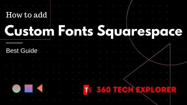 How to add Custom Fonts Squarespace